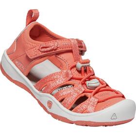 Keen Moxie Sandals Kids coral/vapor